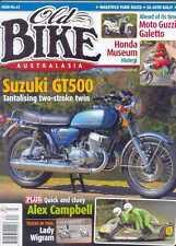 OLD BIKE AUSTRALASIA No.62-Suzuki GT500,MOTO GUZZI GALETTO & more(NEW COPY)