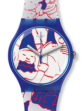 """SWATCH NEW GENT SPECIAL """"JULS AT SWATCH ART PEACE HOTEL"""" (SUOZ217) NEUWARE"""