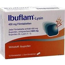 IBUFLAM-Lysin 400 mg Filmtabletten 12 St PZN 365635