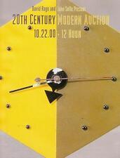 Rago /// 20th C. Modern Deco Design Auction Catalog 2000