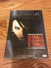 """DVD """"La Ragazza Che Giocava con il Fuoco"""""""