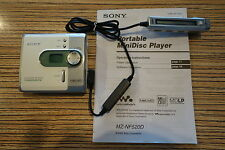 Sony MZ NF 520 WM USB Minidisc Player mit RDADIO FB + AA Batterietauglich (85)