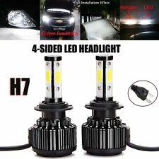 2X Canbus H7 LED Headlight Bulbs Conversion Kit 20000LM 200W 6000K Cool White
