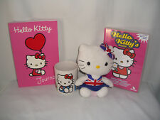 Hello Kitty Mug, Plush, DVD ~ Union Jack ~ Union Flag ~ Sanrio Co. Ltd.
