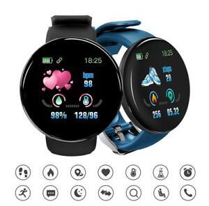 New Smart Watch D18 Men Women Watch Waterproof Bluetooth for android ios
