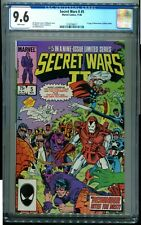 SECRET WARS TWO 5 CGC 9.6 1ST BOOM BOOM (TABITHA SMITH) JIM SHOOTER