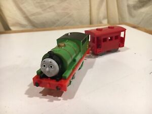 Motorized Percy with Red Car for Thomas and Friends Trackmaster