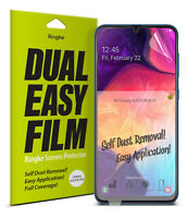 For Samsung Galaxy A70 A50 A30 A20 Screen Protector | Ringke Dual Easy Film 2pcs