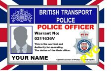 UK ID COLLECTOR CARDS   British Transport Police
