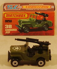 DTE LESNEY MATCHBOX SUPERFAST 38-C CHROME FOIL HUBS MILITARY ARMY JEEP NIOB