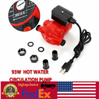 NPT 3/4'' Hot Water Circulation Pump 93/67/46W 3Speed Household Circulating Pump