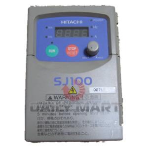 Used & Tested HITACHI SJ100-007LFR Inverter 220V 0.75KW
