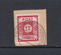 SBZ Mi-Nr. 46 Aa gestempelt auf Briefstück - geprüft Kunz BPP