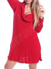 Maglioni da donna rosso acrilico