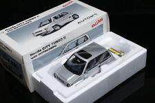 Diecast Car Model AUTOART 1:18 Honda CITY TURBO II (Silver) with MOTOCOMPO+GIFT!