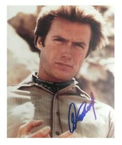 CLINT EASTWOOD signed photo American actor - AFTAL OnlineCOA