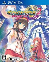 USED PS Vita Dungeon Travelers 2 Japan Import game soft