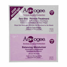 ApHogee Twin Pack Two Step Protein Treatment and Balancing Moisturizer 0.75oz