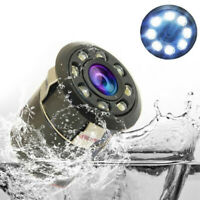 Waterproof 170° CMOS Reverse Rear View Auto Car Backup Camera Night Vision 8 LED