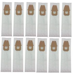 (12) Vacuum Bags for Hoover Type Q HEPA Platinum, Allergen AH10000, UH30010COM