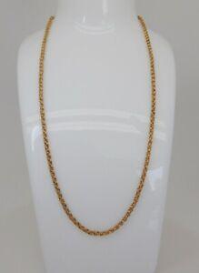 Antique , Vintage 18 ct Gold Fancy Chain
