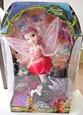 "New DISNEY FARIES Tinkerbell Porcelain Doll ""ROSETTA"" 2007 BRASS KEY KEEPSAKES"