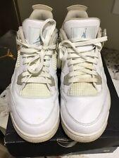 "Nike Air Jordan IV (4) Retro ""Sand"" Grade School GA Pre-Owned W/Box Size 9Y 2017"