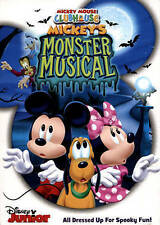 Mickey Mouse Clubhouse: Mickey's Monster Musical DVD. FREE SHIPPING