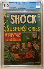 Shock SuspenStories #1 (1952, EC) CGC 7.0- Classic Pre-Code Comic! 💥💥