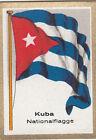 DRAPEAU CUBA KUBA National FLAG CARD 30s