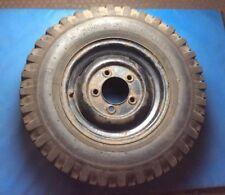 "Land Rover Defender 16"" Steel Wheel With Dunlop Roadtrak Tyre #002"