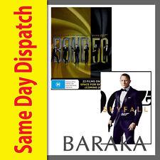 Bond 50 James Bond 007 Complete Collection DVD Box Set + Skyfal 23 Discs R4 New