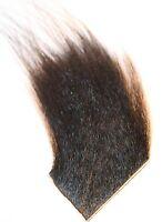 ICE FLIES   Icelandic Horse Hair for Fly Tying Black Arctic runner