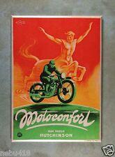 "Vintage Style Motorcycle Ad Fridge Magnet 2 1/2"" x 3 1/2"" Motoconfort Centaur"