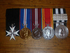 MEDAL MOUNTING -Court Mounting - Full Size Police Ambulance Fire Brigade Service