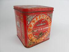 Antica scatola in latta Lazzaroni Amaretti di Saronno Vintage PAGANI Lecco Italy