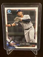 2018 Bowman Chrome Gleyber Torres Rookie Card New York Yankees RC Mint #83
