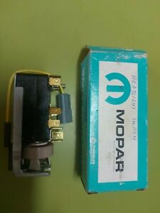 Genuine NOS MOPAR 1961/62 Valiant R and S Series/ Lancer Headlight Switch