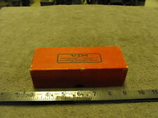 Vintage Empty Box Cover for a VIM Emerald Syringe 30cc No.831, Instructions