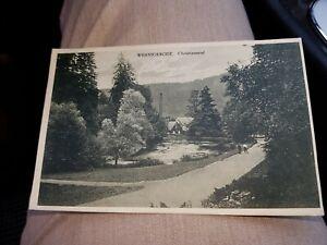 Ak  Sammler Hobby Heimat alt selten Wernigerode Christianental