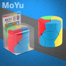 MYMF Redi 3x3x3 Cylinder Magic Cube Pie Twist Puzzle IntelligenceToy Multi-Color