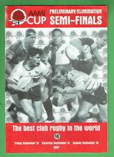 #Kk. Rugby Union Program - 14/9 1997, Gordon V Randwick