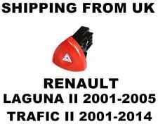 HAZARD WARNING LIGHT SWITCH RED BUTTON DASH RENAULT LAGUNA MK2 II TRAFIC MK2 II