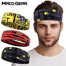 Hair Head Band Sweatband Headband Stretch Headwrap Elastic Sports Gym Men Women