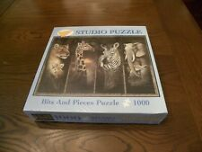 """1000 pc. Bits and Pieces Studio Puzzle """"Pride of Africa"""" 20"""" x 27"""" - New"""
