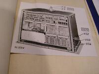 RFT Antennenanpaßgerät KTA 1300 Serviceunterlage Typ 1554.103