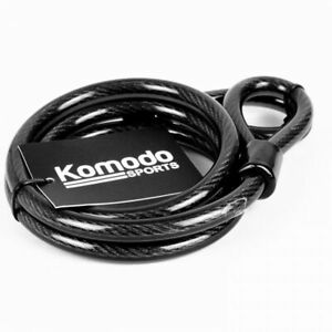Heavy Duty Steel Bicycle Motorbike Moped Pad Lock Security Cable Anti Theft 1.2m