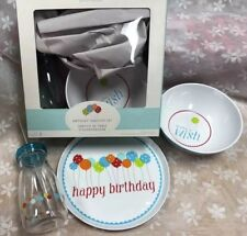 TWO! Pottery Barn Kids Birthday Tabletop Place Setting SET 2 BOXES *Discontinued