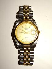 Bulova Super Seville Calendar Quartz Herren Armbanduhr Vintage (ohne Batterie)