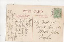 Miss A Endacott Fox & Hounds Watlington Oxfordshire 1908 494b